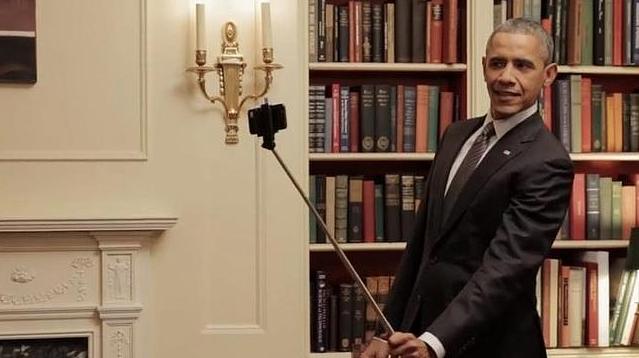 obama palo selfie