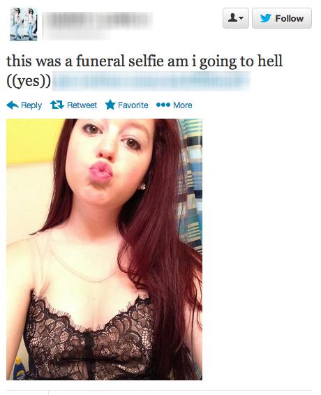 selfie-funeral