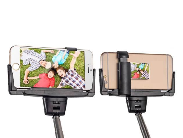 palo selfie con espejo